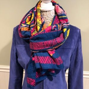 Warriors in Pink Rayon Scarf 2014 Edition by Ford
